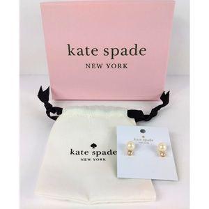 NWT Kate Spade Pearls Of Wisdom Earrings